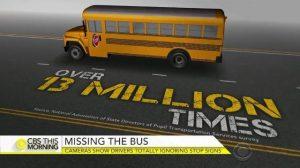 کلیپ منتشر شده درباره احترام به اتوبوس مدرسه در آمریکا، یک کاریکاتور است