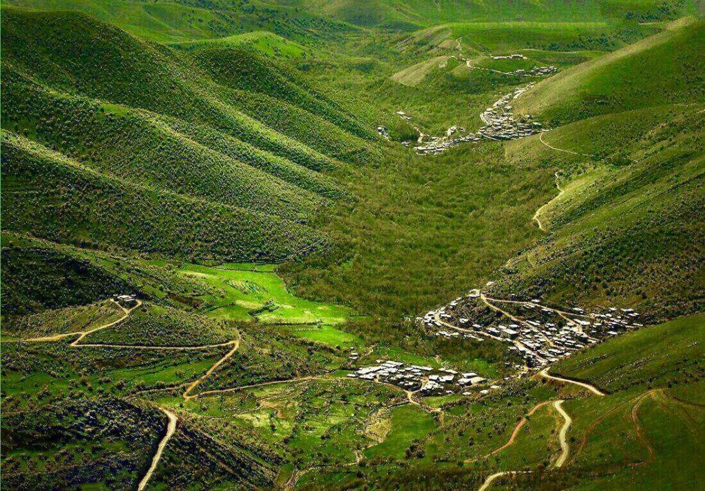 زیباترین مرزهای دو کشور در ایران